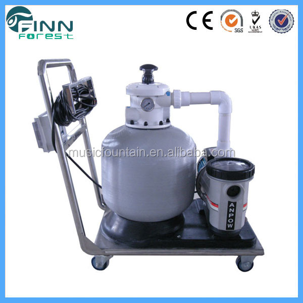 High quality swimming pool circulation pump fiber glass diameter 800mm filtration combo