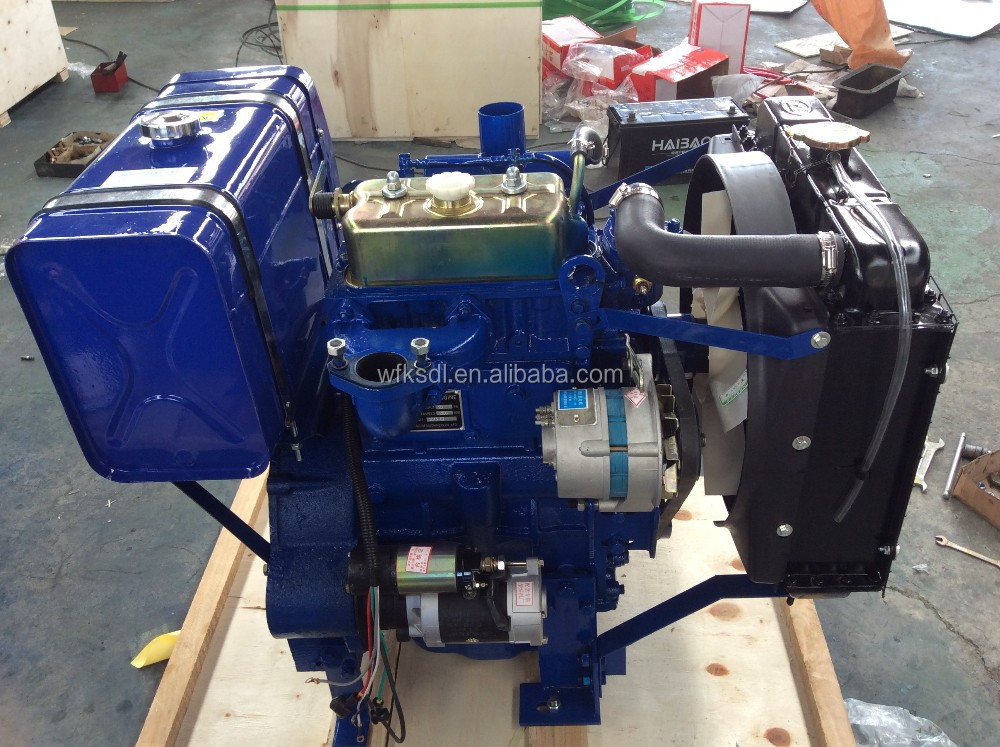 china supplier machine manufacturers auto parts 2 or twin cylinder diesel engine