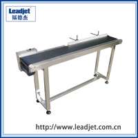 Egg Conveyor belt used with Ink Jet Printer