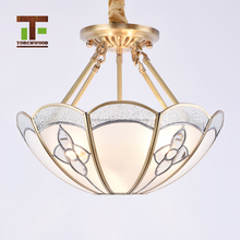 factory-outlet Vintage industrial loft stair round modern crystal clear lamp ceiling