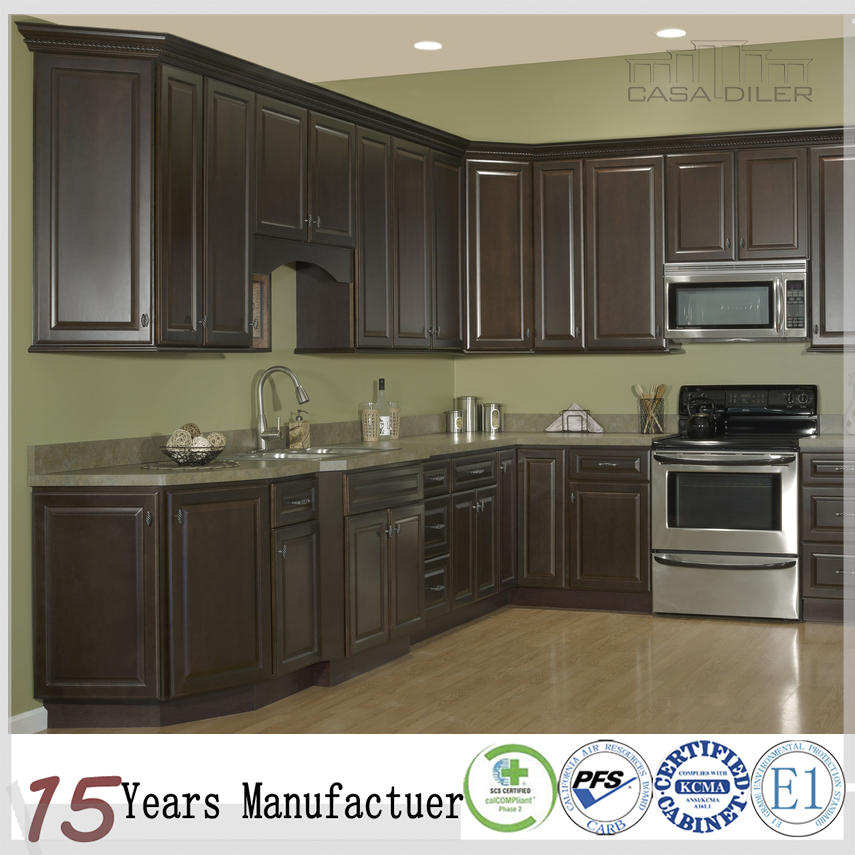 Foshan Furniture Modular Kitchen Cabinets Design With Solid Wood Door Buy Modular Kitchen