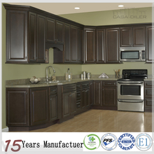 Foshan Furniture Modular Kitchen Cabinets Design With Solid Wood Door