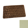 Anti-slip SBR rubber back memory foam bath mat