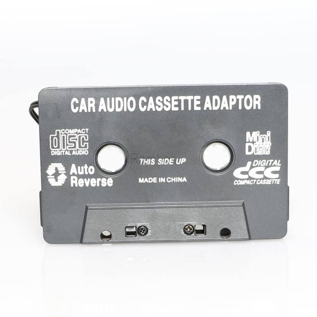 Car Audio Tape Cassette Adapter For iPhone For iPod MP3 CD Radio Nano 3.5mm Jack Aux