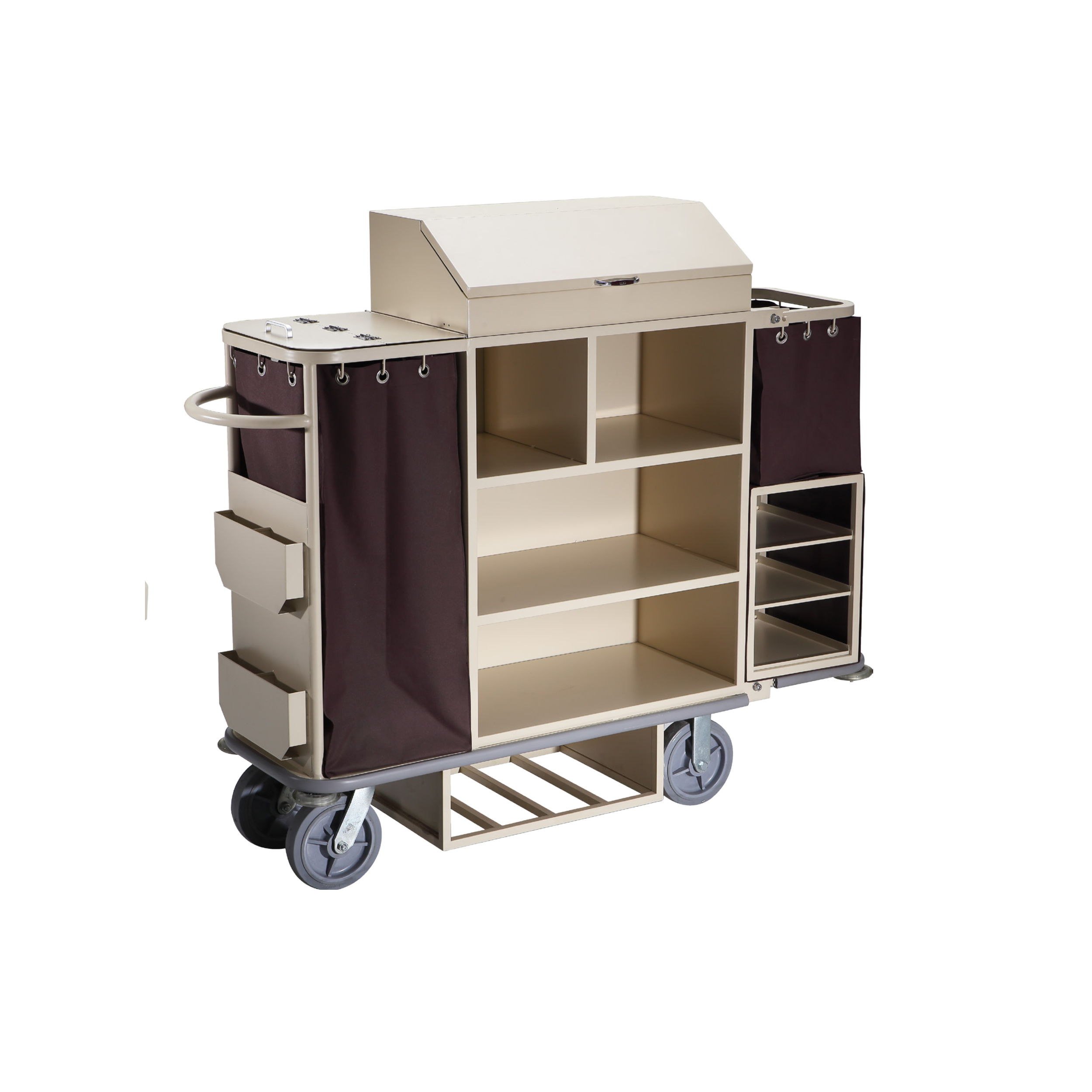 Hotel Restaurant Housekeeping Cleaning Service Trolley