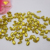 Shinning Golden Yellow CZ Oval Shape Cubic Zirconia Loose Stones
