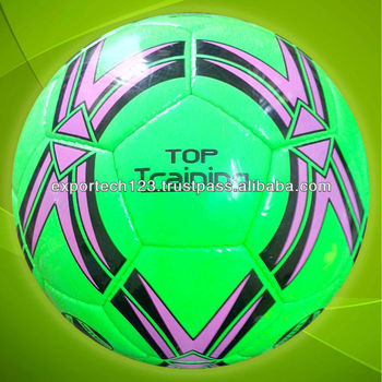 Competition Quality Green TPU Soccer ball