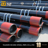 drill pipe 5m, used oil and gas pipe for sale