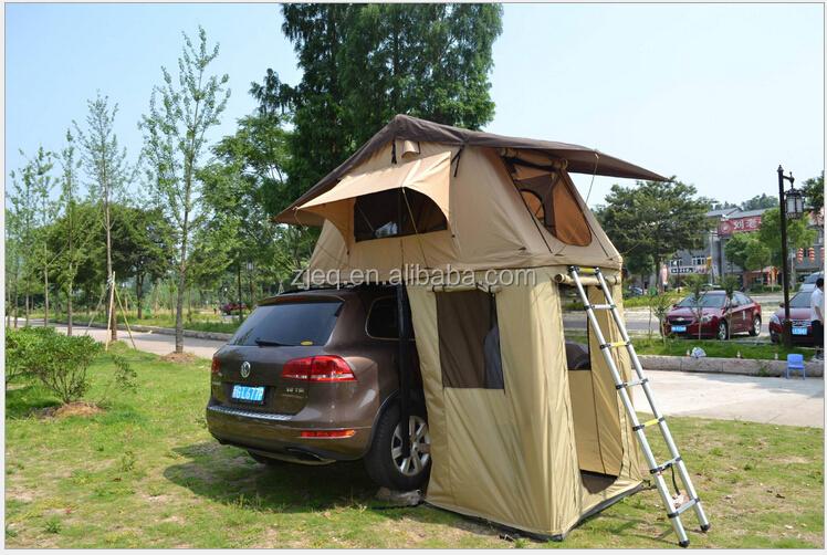Hard Shell Camping Trave Suv Fiberglass Car Roof Top Tent
