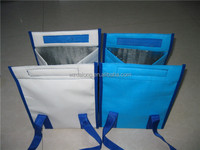 non woven multifuctional cooler bag with sticker