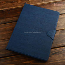 Genuine Real 100% Leather high protective Strap Designed tree texture pu leather tablet cover for Apple iPad 56