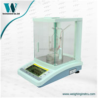 Analytical Liquid Density Scale with Under Weighing