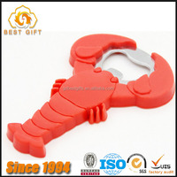 high quality factory price lobster shape bottle opener