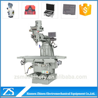 Long life machine for milling flat face preliminary