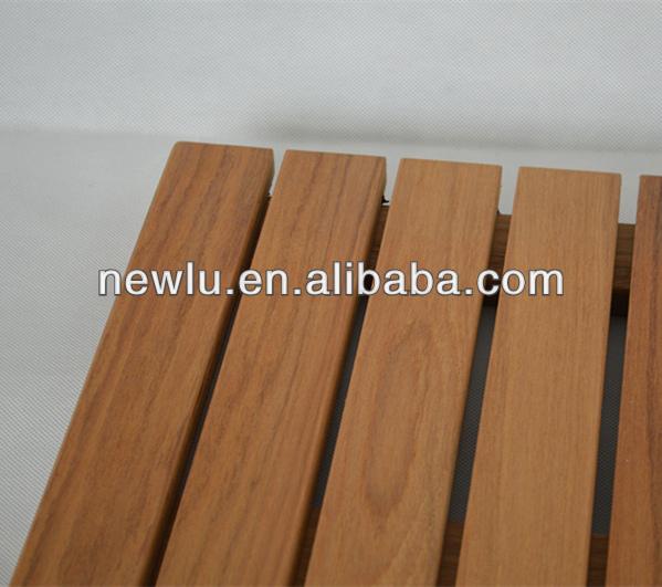 Luxe Wellness Badkamer ~ Hot koop teak houten douche mat FSC goedgekeurd badmatten product ID