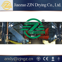 Good quality best price composting chicken manure dryer machine by ZJNDRYER