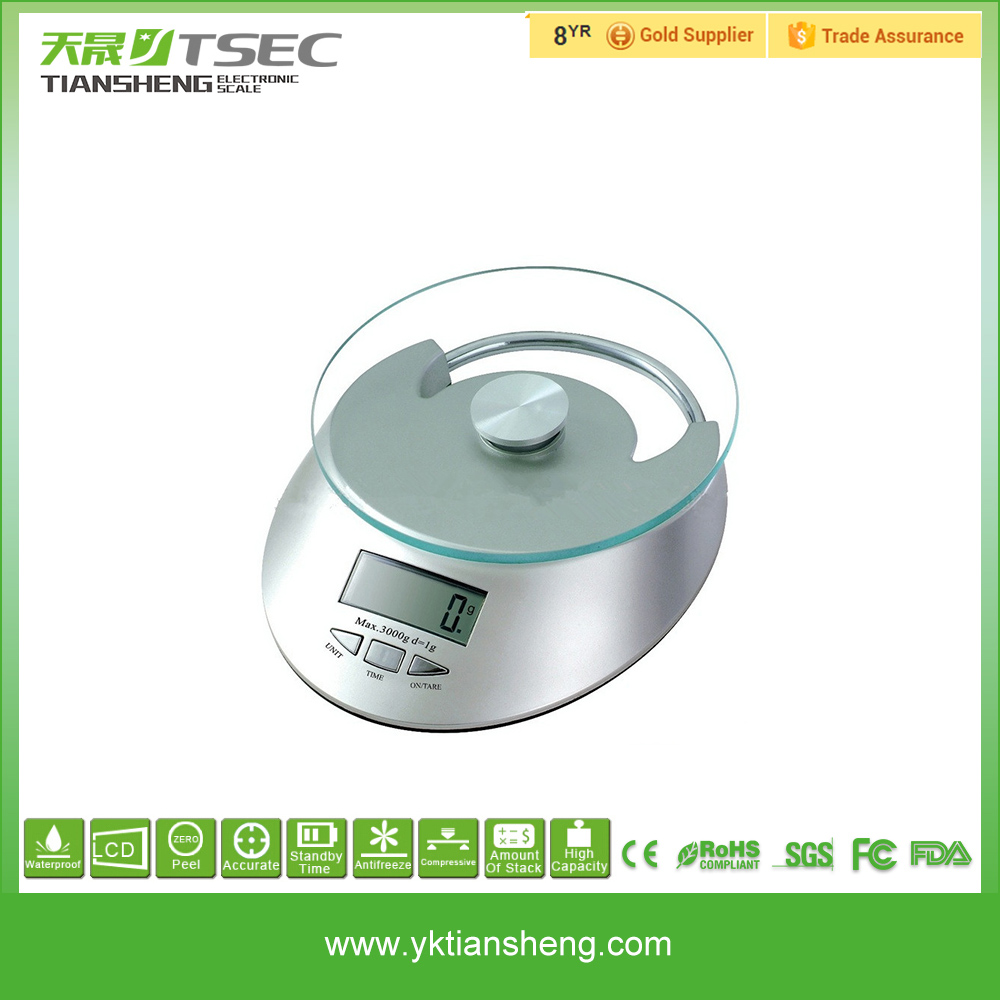 5kg Fruit and Vegetable Digital Multifunction Kitchen and Food Scale
