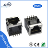 Square sockets RJ45 8p8c network shield jack