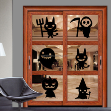 Vinly Halloween series glass window living room decor Sticker personality decorative waterproof wall stickers