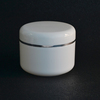 50g 50ml White Plastic Jar With