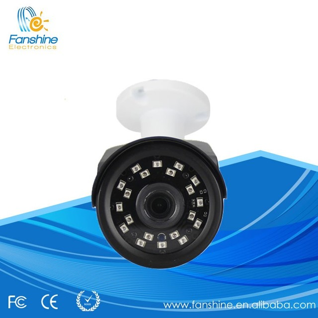 20 Meter IR Distance CCTV Camera Indoor Home Dome Camera with Small Plastic Case