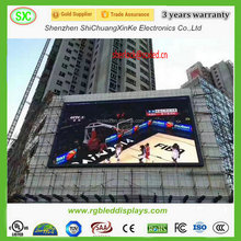 HD full color outdoor sxey xxx video led display screen