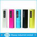 2000mah best quality metal 18650 battery power bank phone charge for iphone