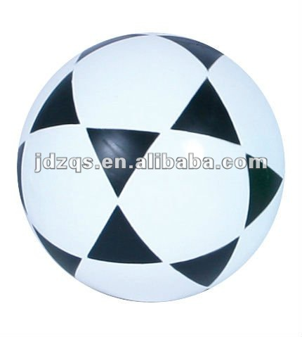 soccer football inflated football/PVC-plastic toy football