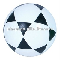 Soccer Football Inflated Football PVC Plastic