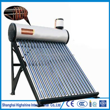 Good working condition cooper coil solar water heater is antifreezing