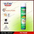 Window and Door Gap Filling Spray PU Polyurethane Foam