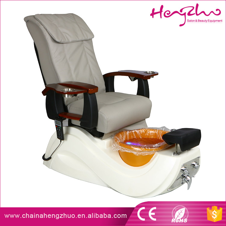 Body Care durable Pipeless Foot Bath Massage Chair pedicure spa chair for wholesale