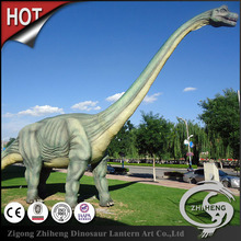 Outdoor playground lifesize animation dinosaur model