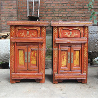 Bedroom Old Cabinet Chinese Antique Small