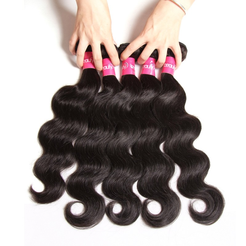 3bundles of brazilian remy hair natural color brazilian hair weave, only 34.7usd in total