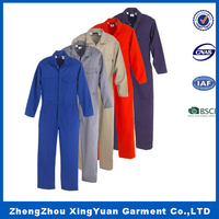 Blue / Grey / Green / Red Labour Suits, Work Uniforms, Work Overalls