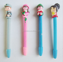 Creative polymer clay ball pens free samples