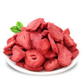 delicious vacuum freeze dried strawberry sliced