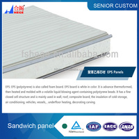 Tongue and groove type sandwich panel