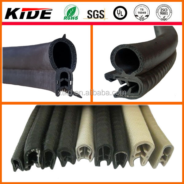 good quality rubber weatherstrip pinchweld seal for doors and windows