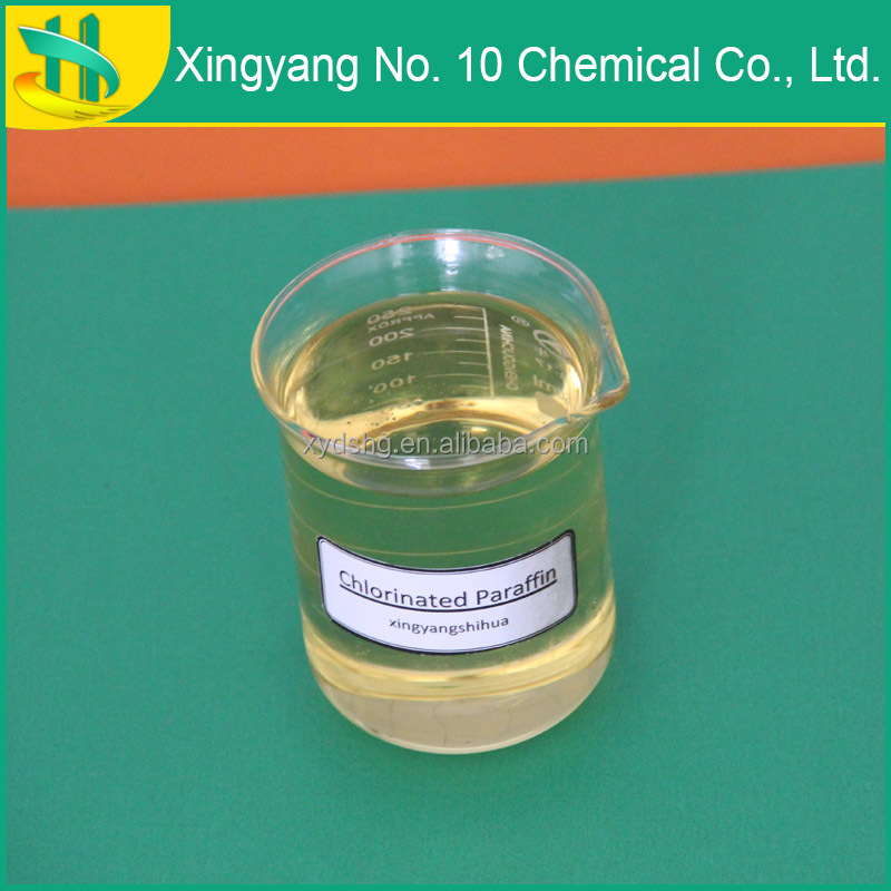 auxiliary plasticizer Chlorinated Paraffin used for paints and chlorinated rubber as fire retardant