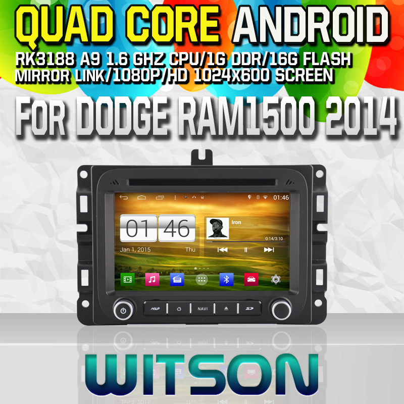 Witson S160 Android 4.4 Car DVD GPS FOR JEEP RENEGADE 2015 with Quad Core Rockchip 3188 1080P 16g ROM WiFi 3G