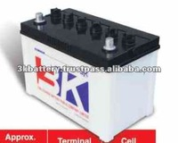 High Quality 65 AH Low Maintenance 12V Car Battery
