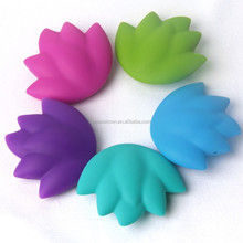 High Quality Wholesale Star Silicone Teething Beads