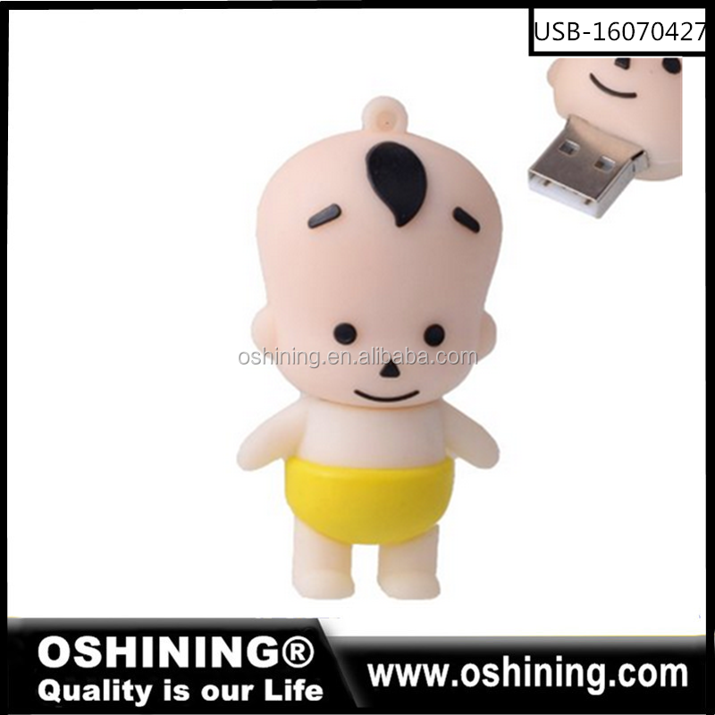 Bulks funny cartoon usb flash drive /pen drive usb 2.0 memory cheap wholesale (USB-16070427)