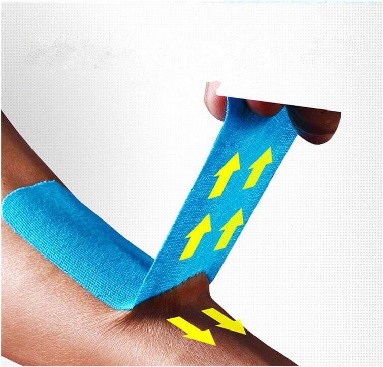 OEM Multi Colored Medical Disposable Adhesive Muscle Kinesiology Physio Tape