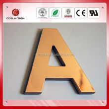 alphabet letter business introduction flat cut letters