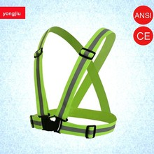 Hot sale Easily Adjustable Sport Running Reflective belt For Running <strong>Safety</strong>