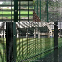 (manufacturer) Security Anti-climb PVC Coated 358 Fence/ 358 security welded fence / 358 anti climb fence