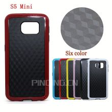 new arrival straw mat grain style tpu cover case for Samsung Galaxy S5 Mini phone housing protective for Samsung Galaxy S5 Mini